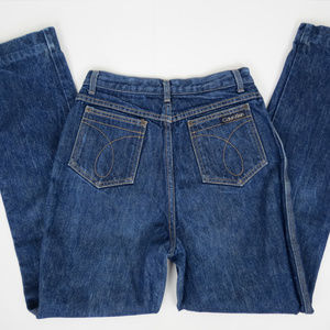 Vintage Calvin Klein Straight High Waist Jeans